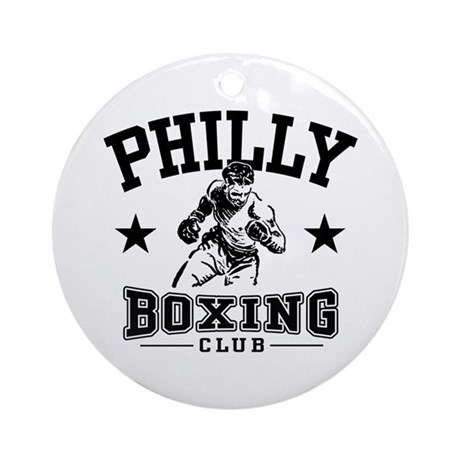Philly Boxing Ornament (Round)