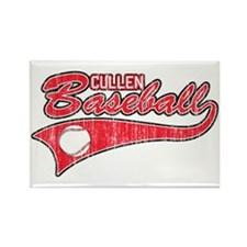 Twilight Cullen Baseball Rectangle Magnet