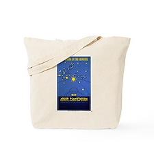 Adler Planetarium Chicago Vintage Art Tote Bag