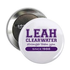 "Leah Clearwater, Stronger Tha 2.25"" Button"