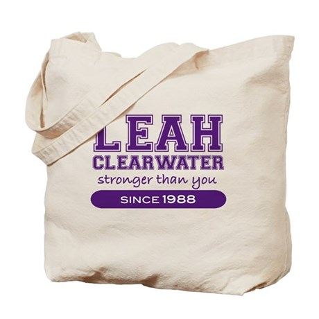 Leah Clearwater, Stronger Tha Tote Bag
