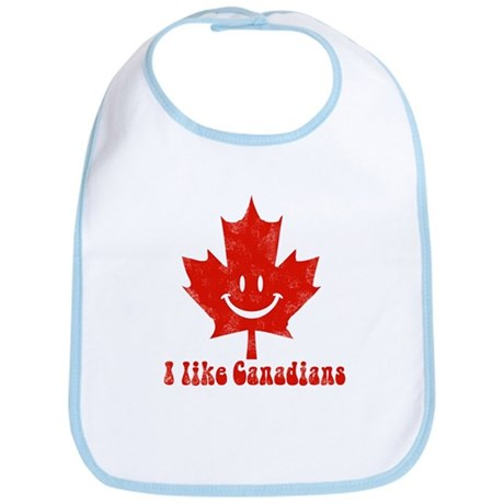 I Like Canadians Bib