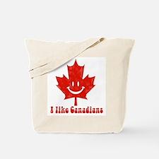 I Like Canadians Tote Bag