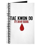 In My Blood (Tae Kwon Do) Journal