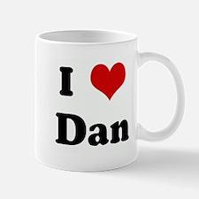 I Love Dan Mug
