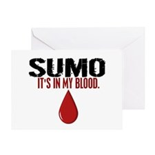 In My Blood (Sumo) Greeting Card