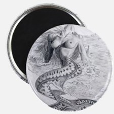 Mermaid Dreams Magnet
