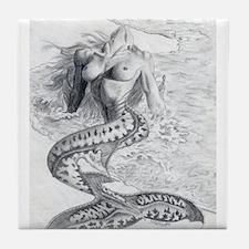 Mermaid Dreams Tile Coaster