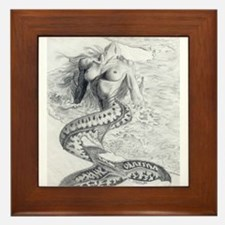 Mermaid Dreams Framed Tile