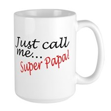 Just Call Me Super Papa Mug