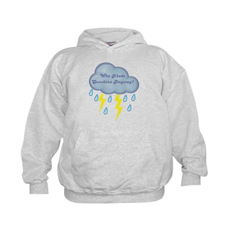 Who Needs Sunshine? Twilight Kids Hoodie