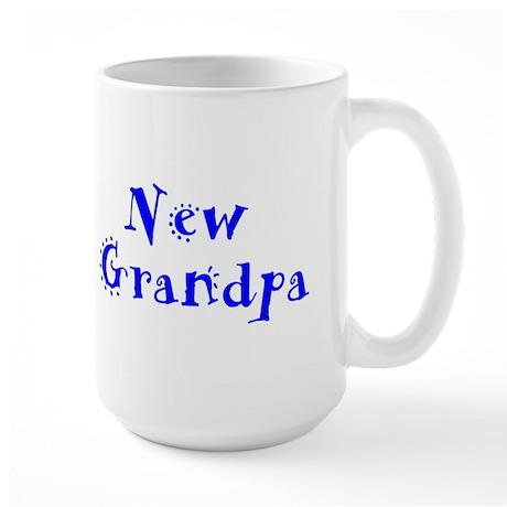 New Grandpa Large Mug