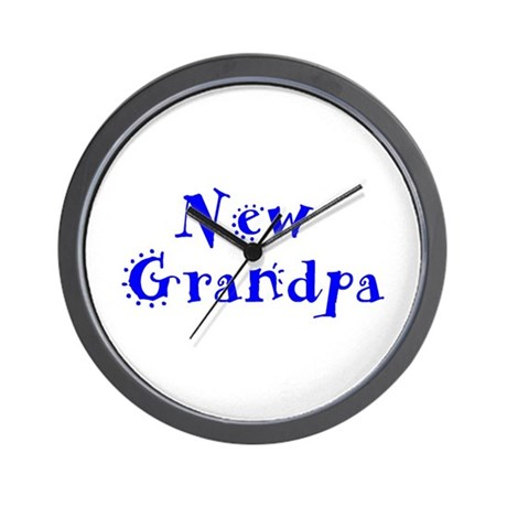 New Grandpa Wall Clock