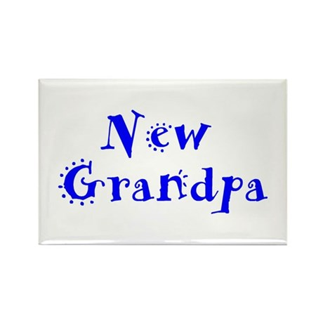 New Grandpa Rectangle Magnet (10 pack)