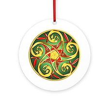 Celtic Pentacle Spiral Keepsake Ornament