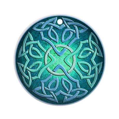 Celtic Eye of the World Keepsake Ornament