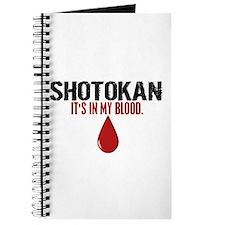In My Blood (Shotokan) Journal