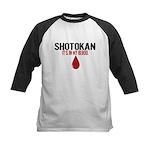 In My Blood (Shotokan) Kids Baseball Jersey