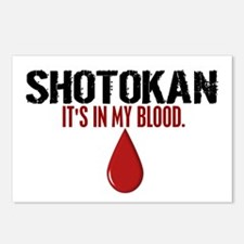 In My Blood (Shotokan) Postcards (Package of 8)