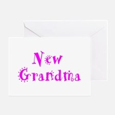 New Grandma Greeting Card
