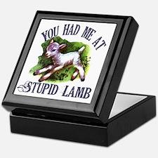 Twilight Stupid Lamb Keepsake Box