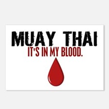 In My Blood (Muay Thai) Postcards (Package of 8)
