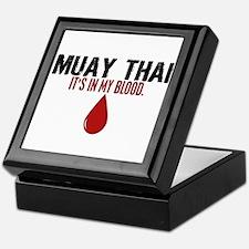 In My Blood (Muay Thai) Keepsake Box
