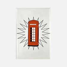 Telephone Box Rectangle Magnet
