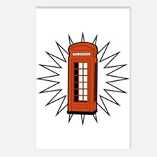 Telephone Box Postcards (Package of 8)