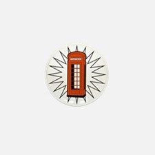 Telephone Box Mini Button (100 pack)