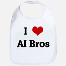 I Love AI Bros Bib