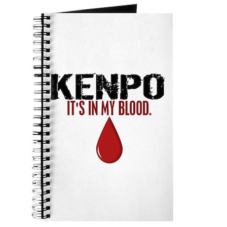 In My Blood (Kenpo) Journal