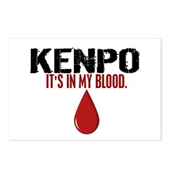 In My Blood (Kenpo) Postcards (Package of 8)