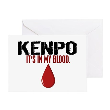 In My Blood (Kenpo) Greeting Card