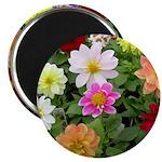 """Lovely Flowers 2.25"""" Magnet (10 pack)"""