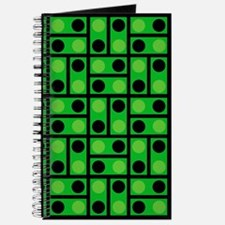Black and Green Dots Journal