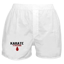In My Blood (Karate) Boxer Shorts