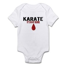 In My Blood (Karate) Infant Bodysuit