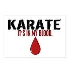 In My Blood (Karate) Postcards (Package of 8)