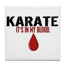 In My Blood (Karate) Tile Coaster