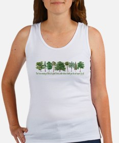 Plant a Tree Women's Tank Top