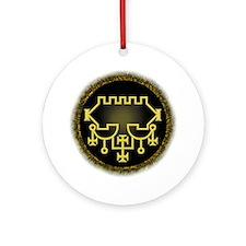 Belial Sigil Ornament (Round)