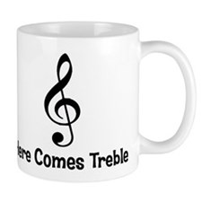 Here Comes Treble Lefty Mug