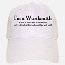 Wordsmith Baseball Baseball Cap