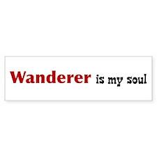 Wanderer (Host) Bumper Bumper Sticker