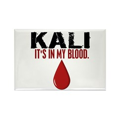 In My Blood (Kali) Rectangle Magnet (100 pack)