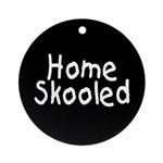 Home Skooled Ornament (Round)