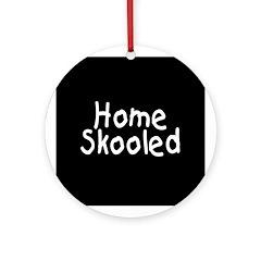 Home Skooled Ornament (Round)
