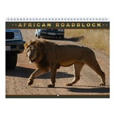 African Roadblocks Wall Calendar