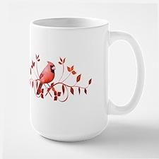 Graceful Cardinal Large Mug